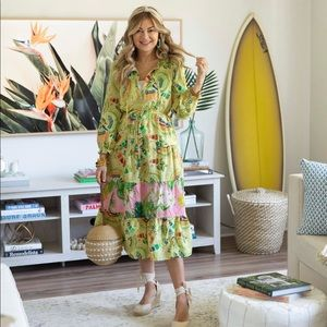 Farm Rio tropical maxi dress